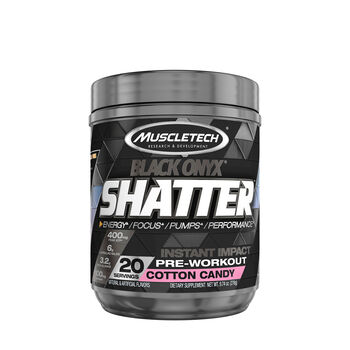 Shatter™ Black Onyx® - Cotton CandyCotton Candy | GNC